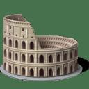 Colosseum Icon 128x128px