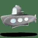 Submarine Icon 128x128px