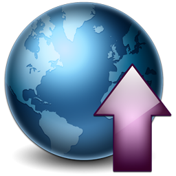 http://icons2.iconarchive.com/icons/studiomx/web/256/Earth-Upload-icon.png
